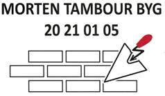 Morten Tambour byg